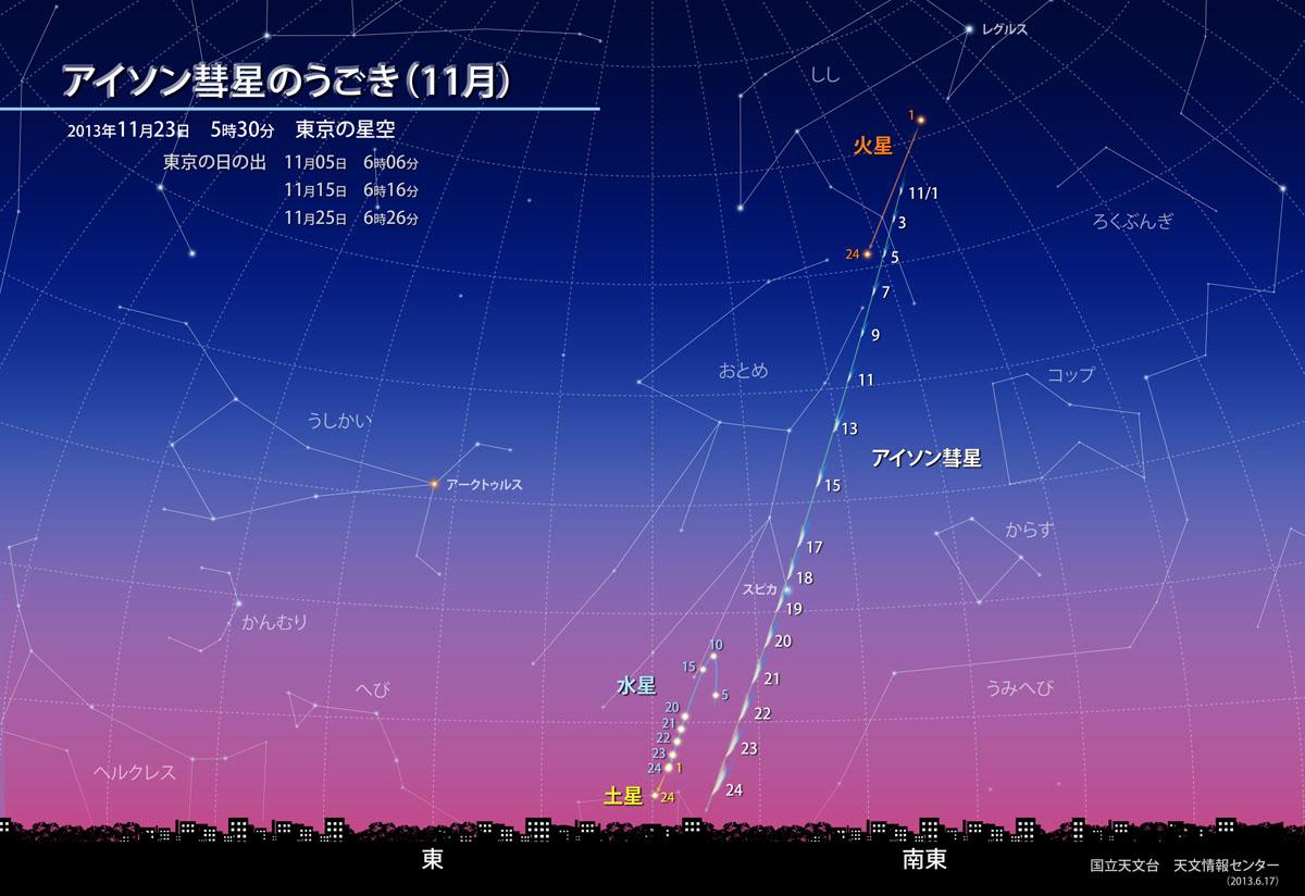 obs 2 l アイソン彗星!2013年11月29日地球最接近!