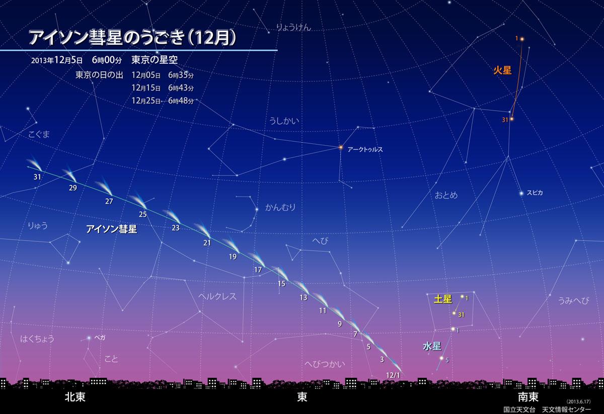 obs 3 l アイソン彗星!2013年11月29日地球最接近!