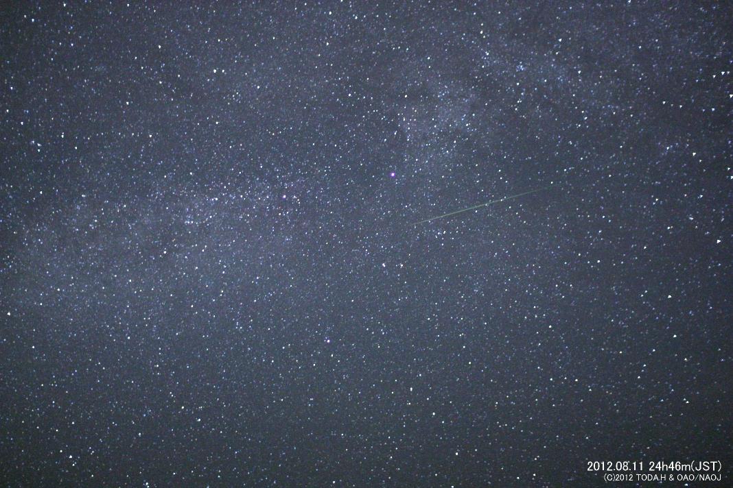 perseids l ペルセウス座流星群 2013年