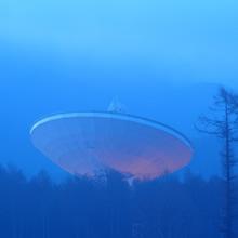 耳をすます季節の終わり —春を迎えた野辺山の電波望遠鏡