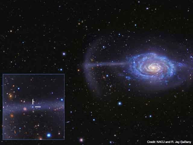 自然科学研究機構 国立天文台アンブレラ銀河 NGC 4651