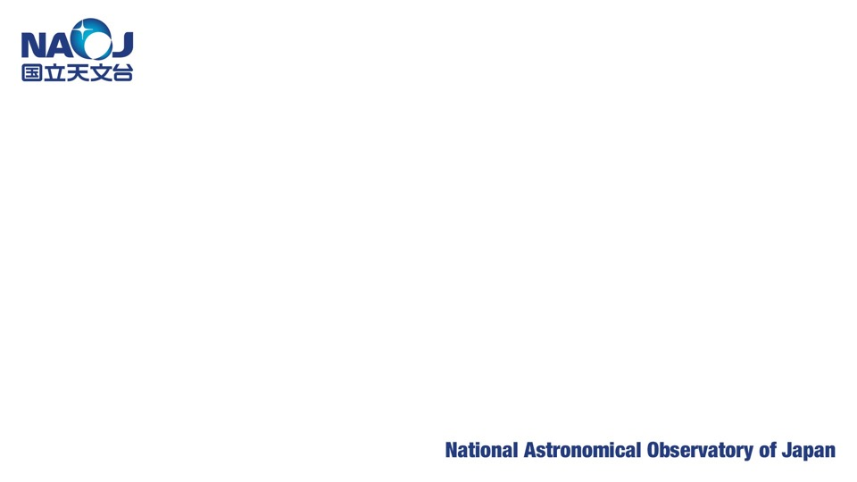 国立天文台ロゴ(背景色白)