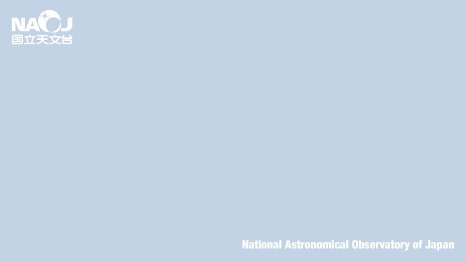 国立天文台ロゴ(背景色薄い青)