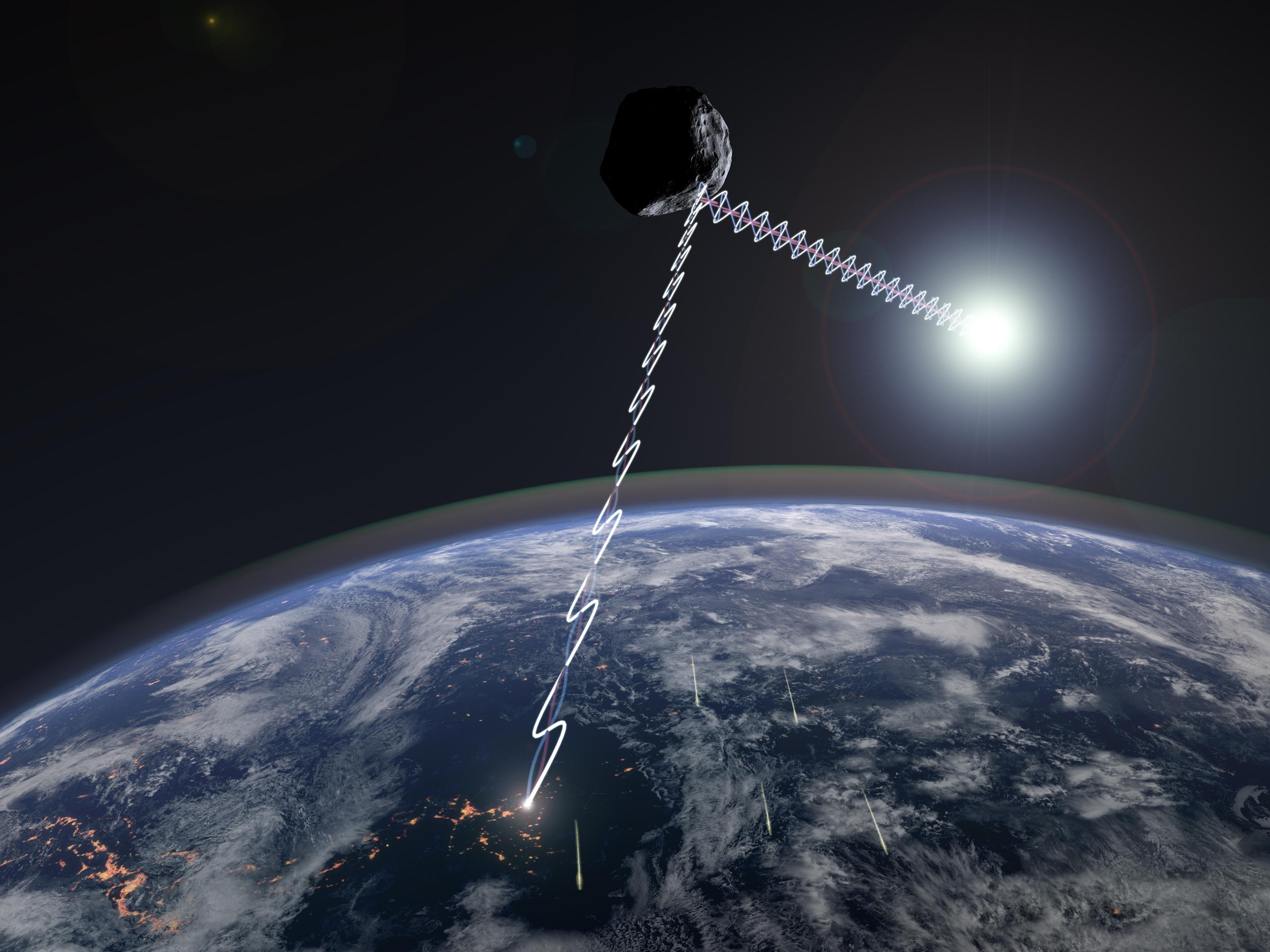 偏光観測が明らかにした近地球小...