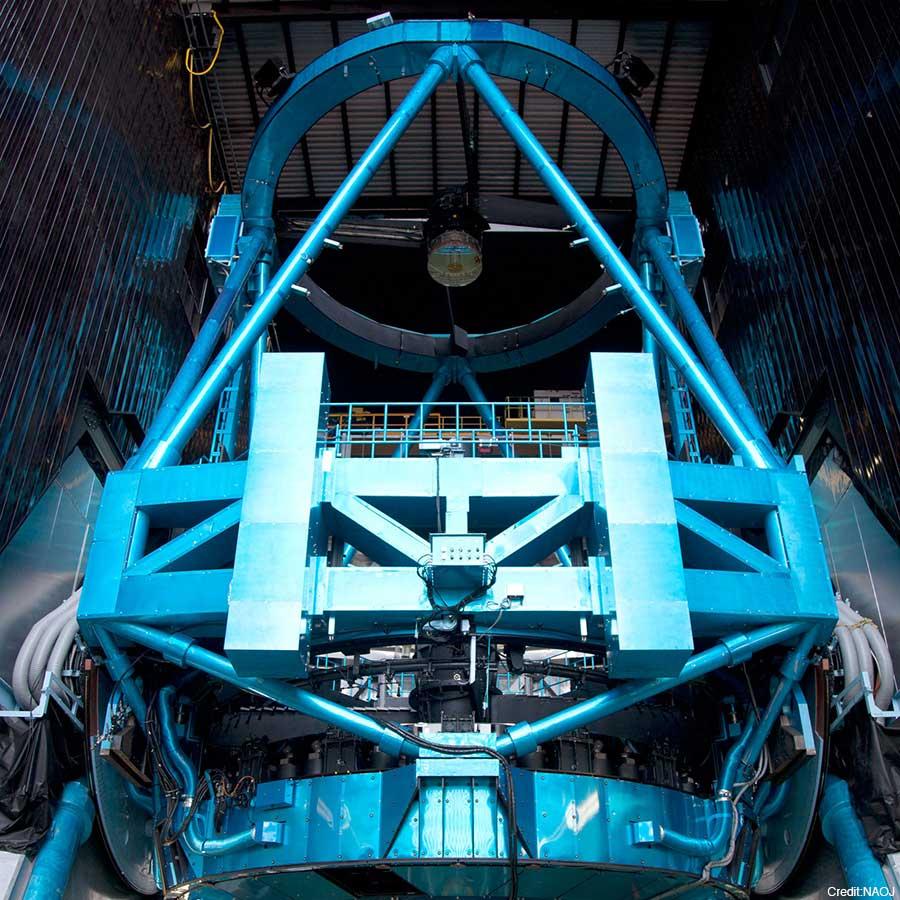 写真:すばる望遠鏡