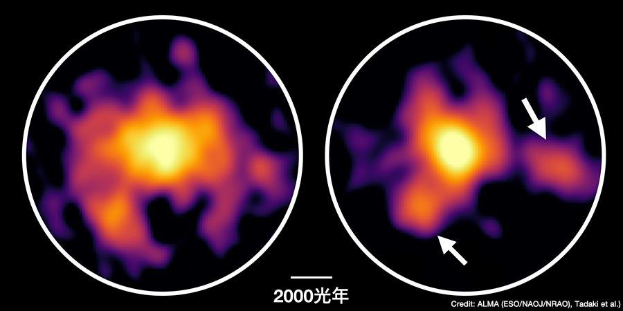 アルマ望遠鏡で観測したモンスター銀河COSMOS-AzTEC-1