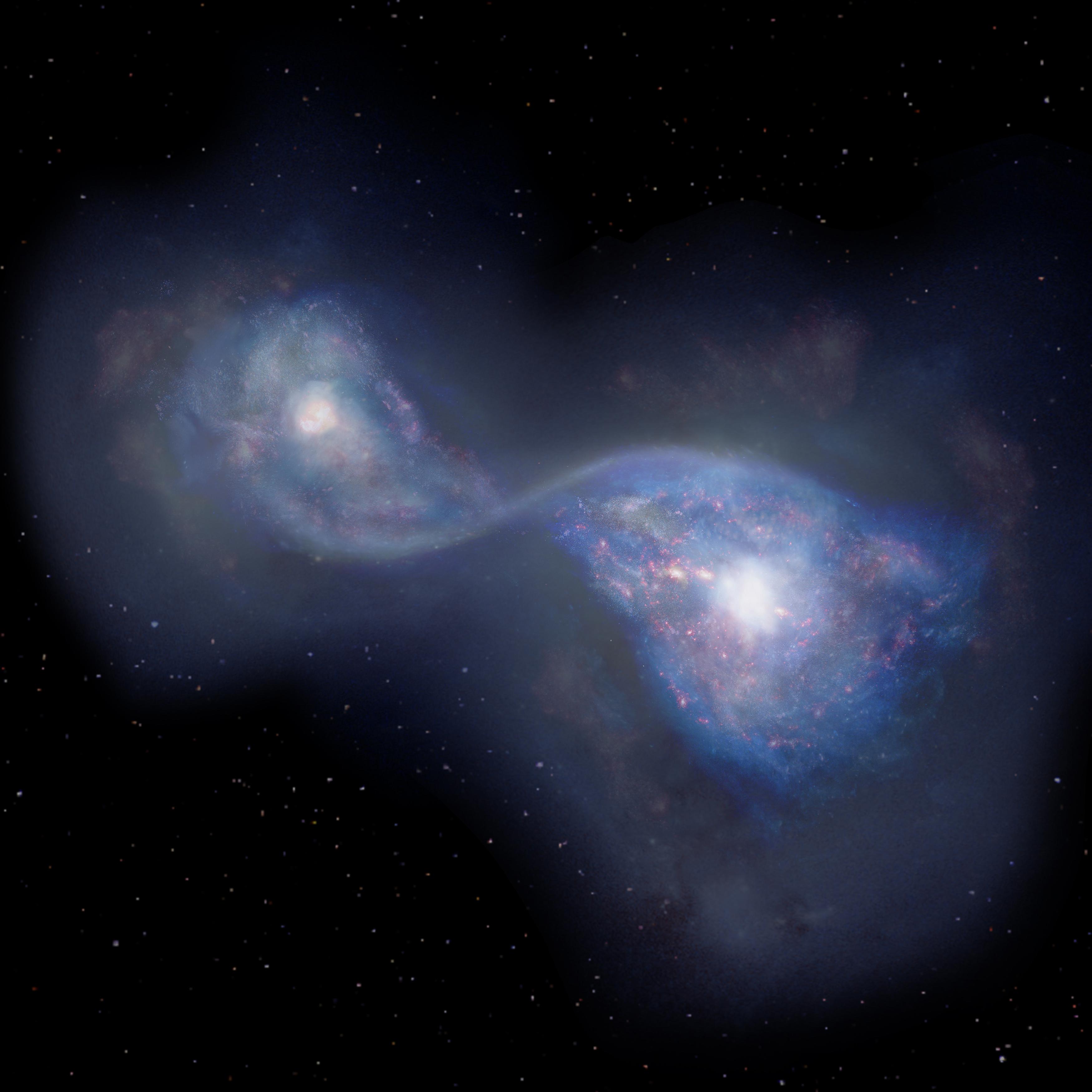 countless galaxies video - HD1280×1280