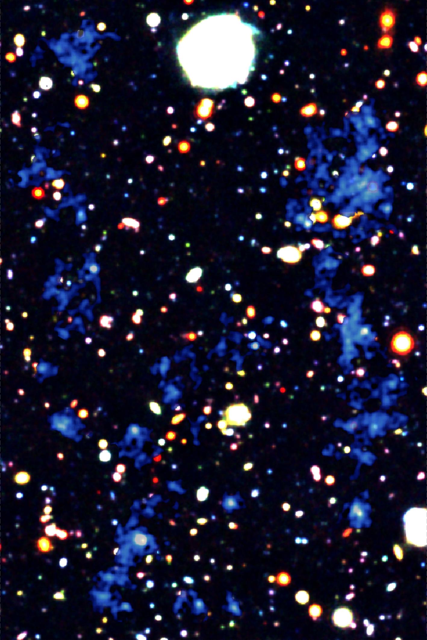 初期宇宙で見つかった宇宙網 -銀河とブラックホールに恵みをもたらす ...