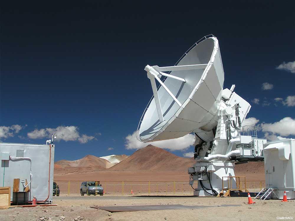 アステ望遠鏡   国立天文台(NAOJ...