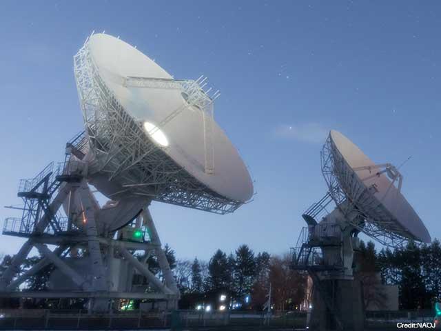 自然科学研究機構 国立天文台VLBI電波望遠鏡群