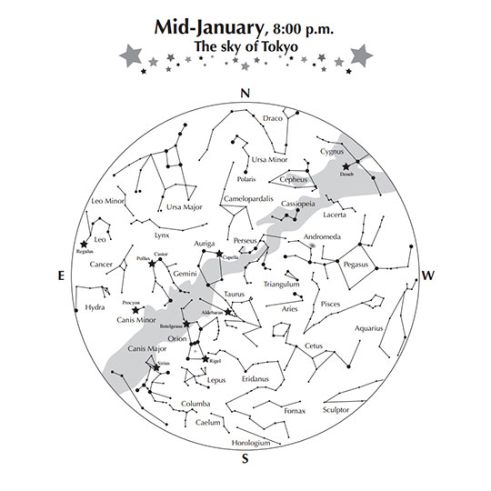 Star Chart | NAOJ: National Astronomical Observatory of Japan - English