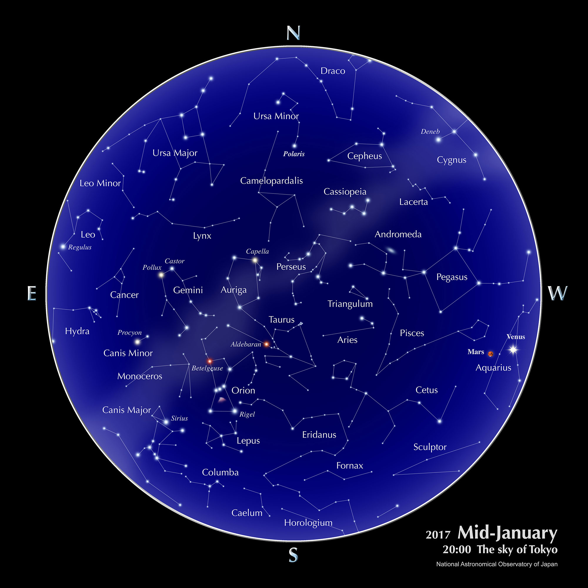 planets in the sky on january first 2017 - photo #23