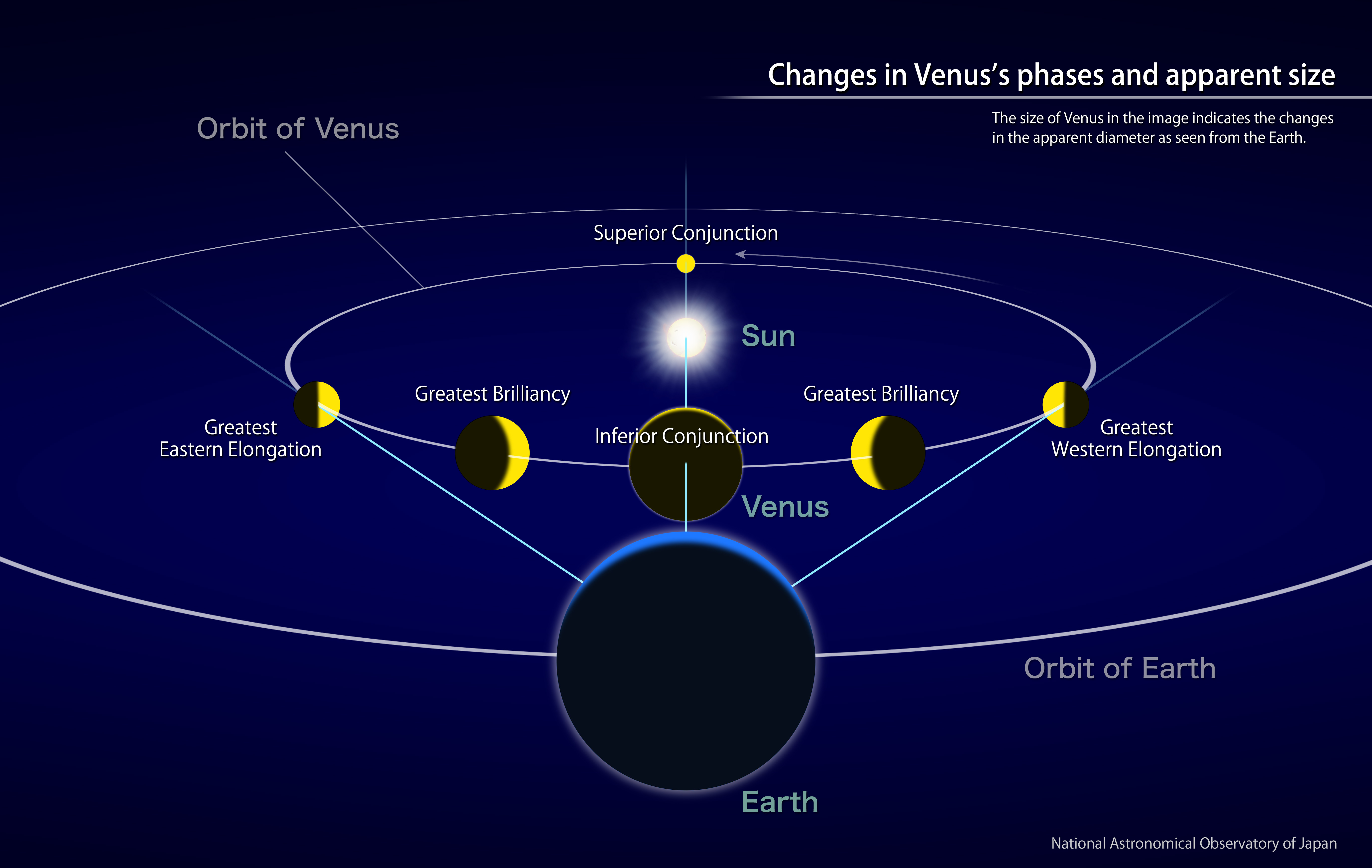 Venus Reaches Its Greatest Brilliancy (February, 2017) | NAOJ: National Astronomical Observatory ...