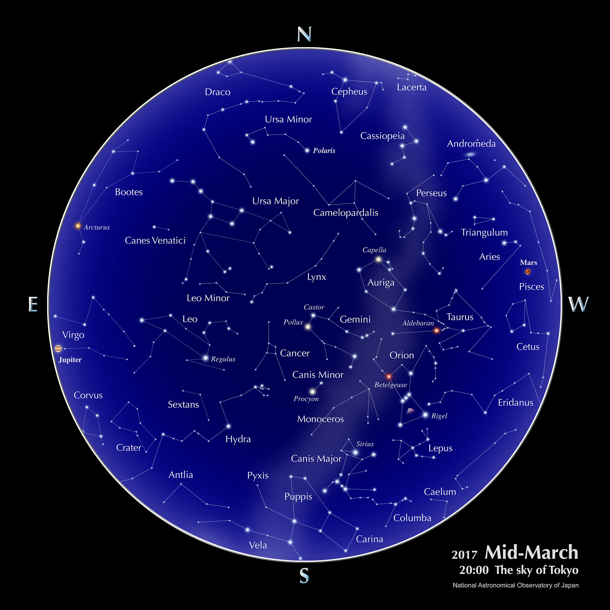 planets in the sky on january first 2017 - photo #29