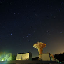 The Nobeyama Millimeter Array and the starry winter sky - Nobeyama Radio Observatory