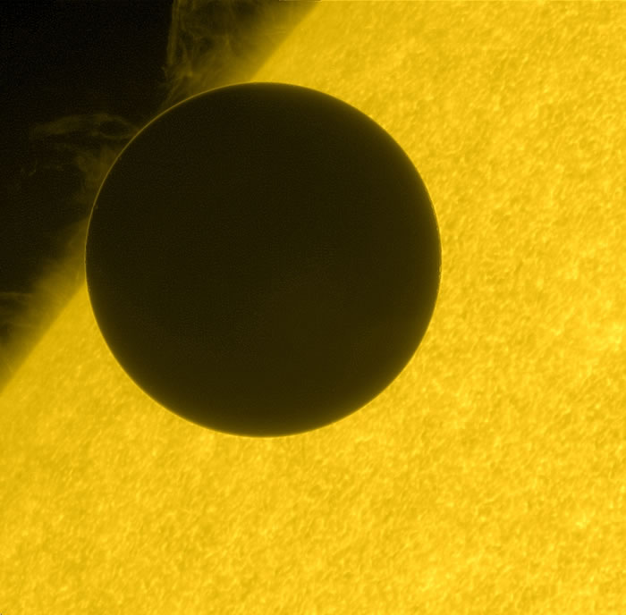 A Black Shape Passing Across the Face of the Sun—The 2012 Transit of Venus
