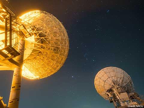 VERA Mizusawa Station and 10-m Radio Telescopes Look Up at ...
