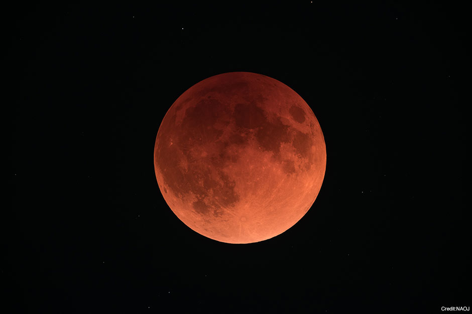 Total Lunar Eclipse on January 31
