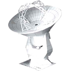 Paper Model of ALMA 12m antenna
