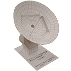 Paper Model of Aste 10-Meter Antenna