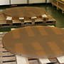 Production of the Mirror Segment Blanks for the TMT Primary Mirror has Begun -- The First Batch of Mirror Blanks is Complete