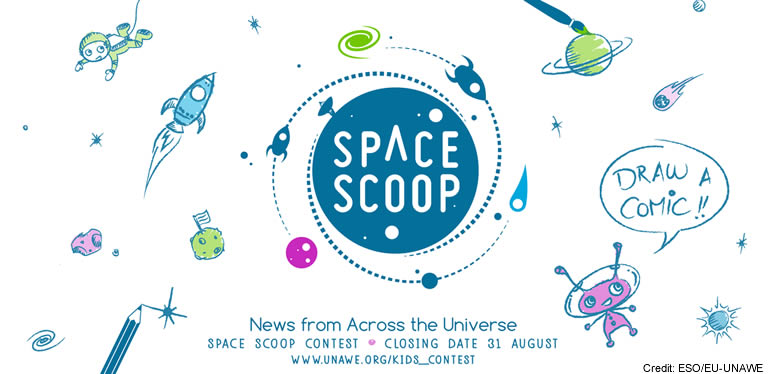 Space Scoop Contest banner